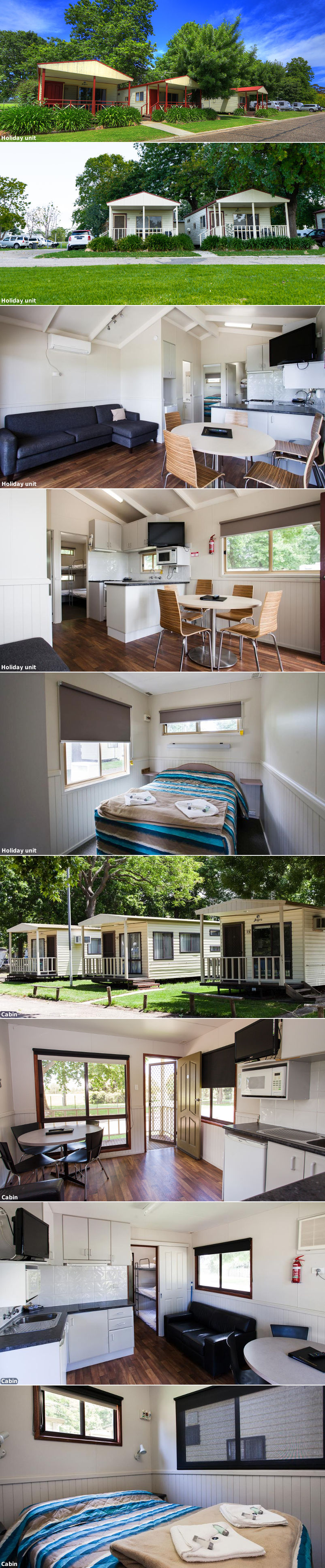 NRMA Bairnsdale Riverside Holiday Park - Holiday units and cabins