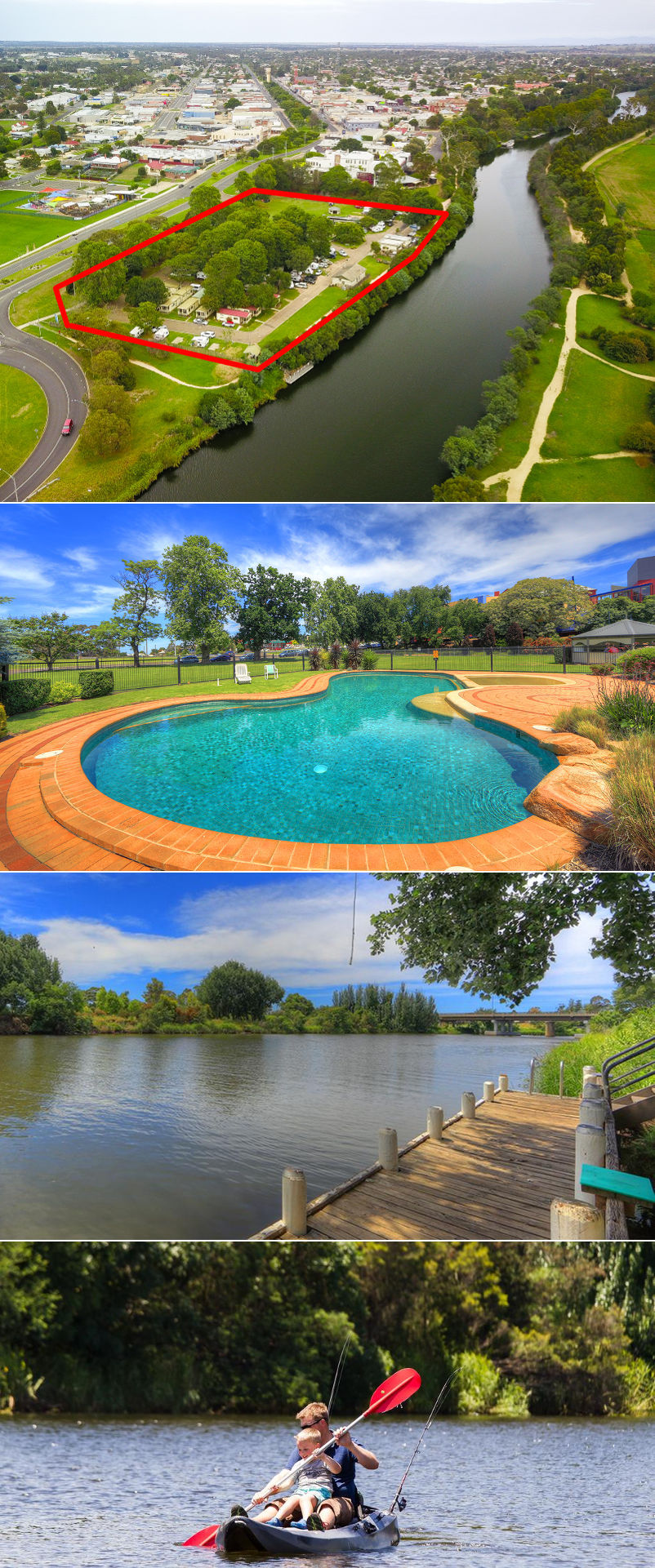 NRMA Bairnsdale Riverside Holiday Park - Grounds and facilities