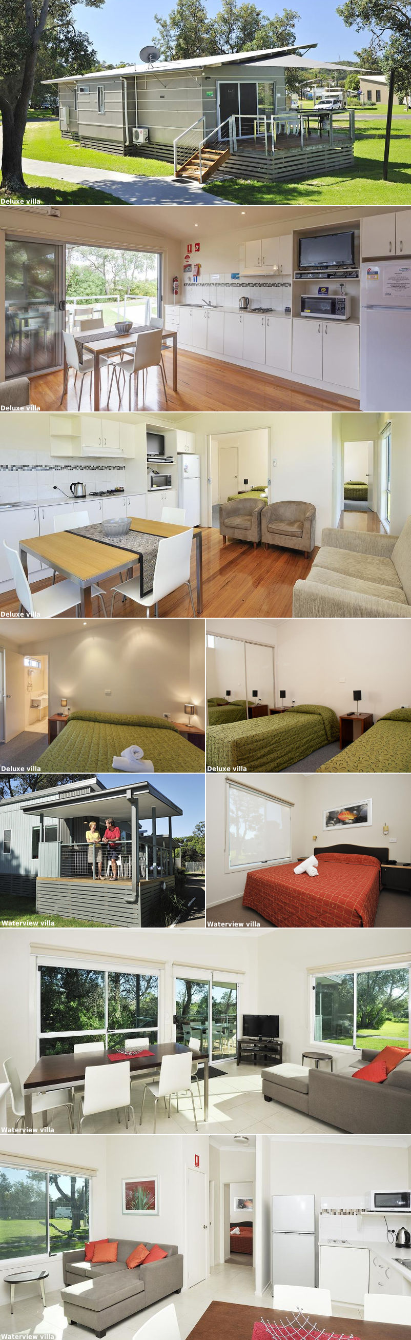 NRMA Eastern Beach Holiday Park - Villas