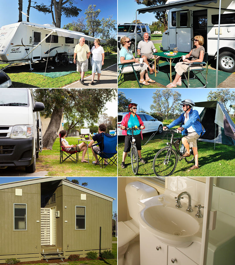 NRMA Eastern Beach Holiday Park - Sites