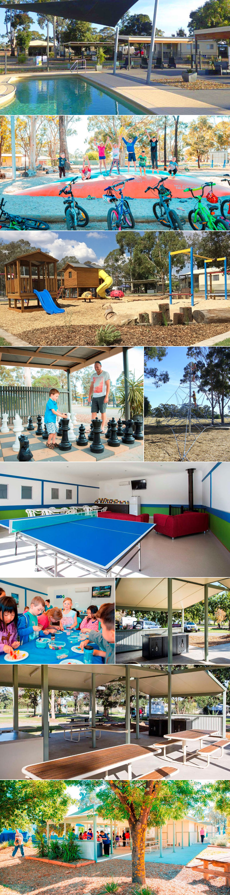 BIG4 Bendigo Marong Holiday Park - Grounds and facilities