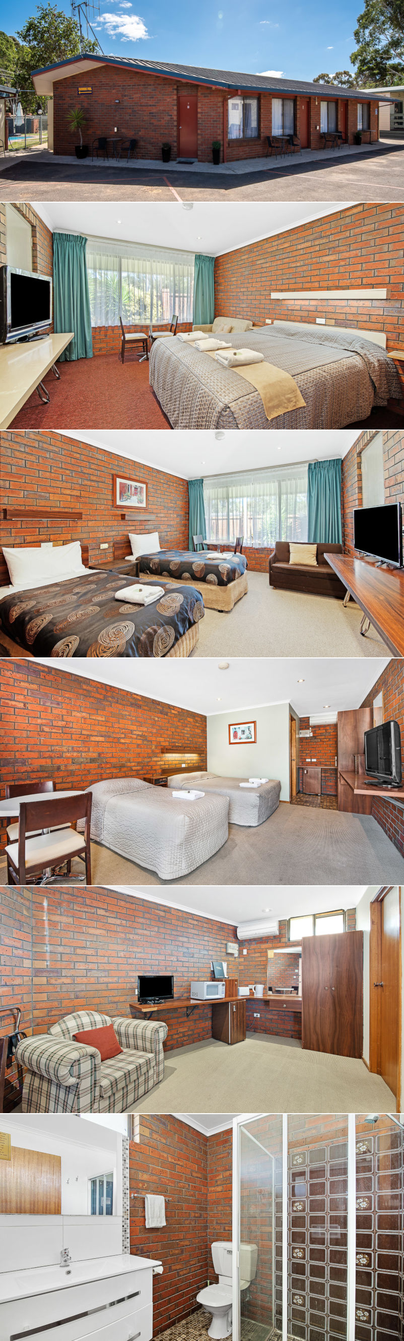 Golden Country Motel & Caravan Park - Motel rooms