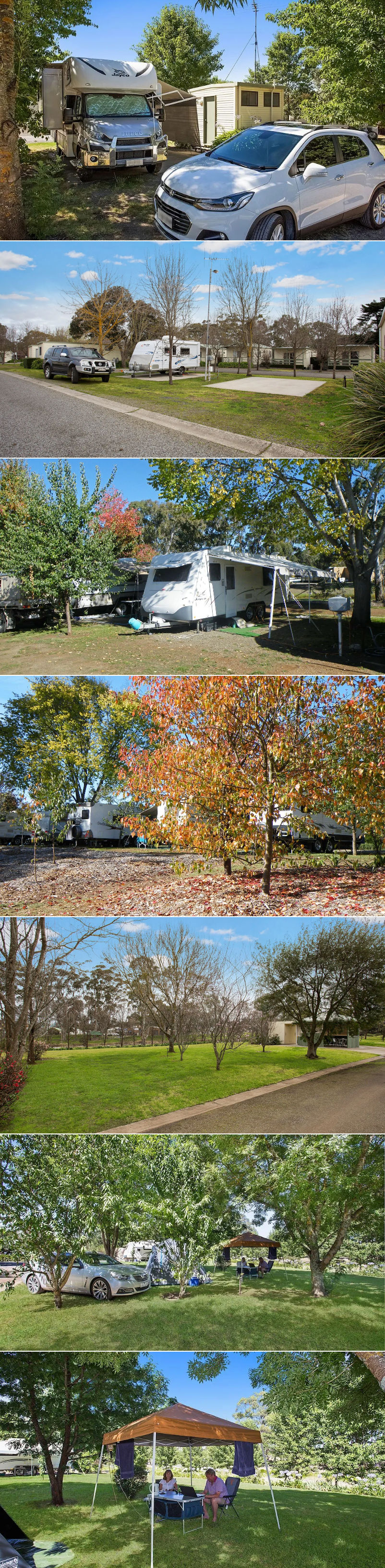 Lake Hamilton Motor Village & Caravan Park - Sites