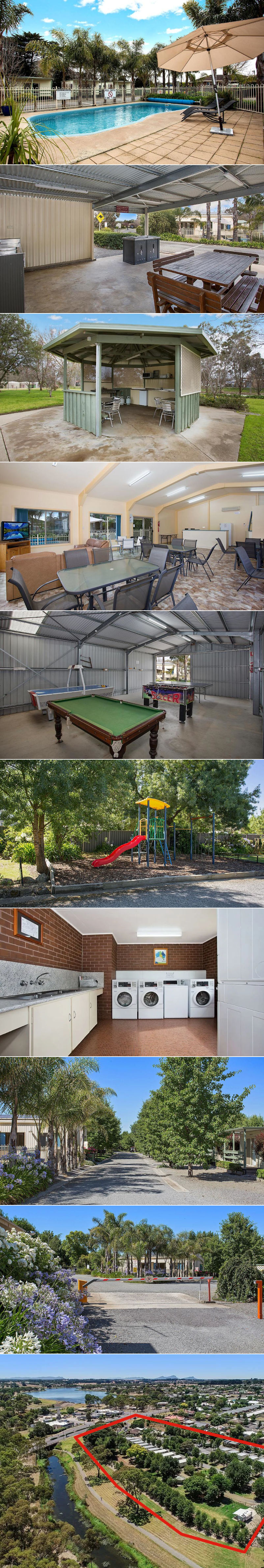 Lake Hamilton Motor Village & Caravan Park - Grounds and facilities