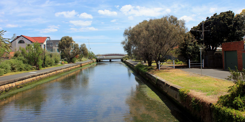 Elwood Beach Calming Tones - Elwood Canal - at end of the street