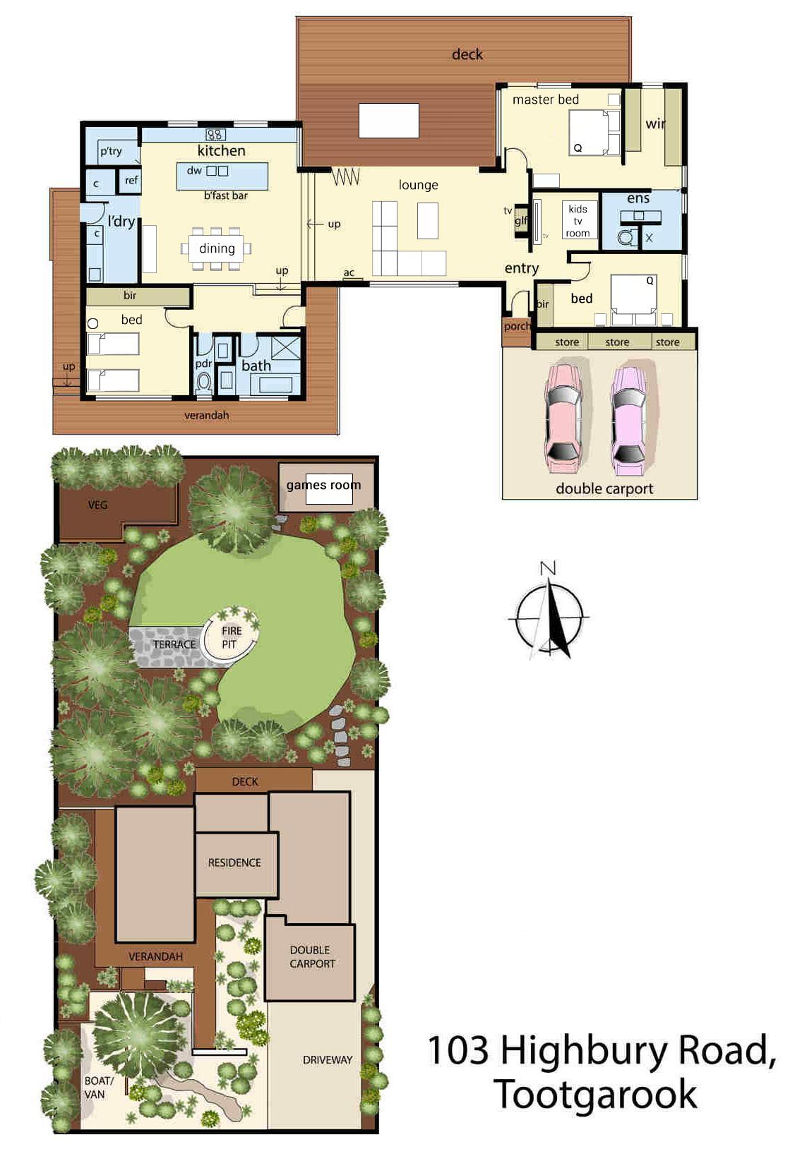 Highview - Floor plan