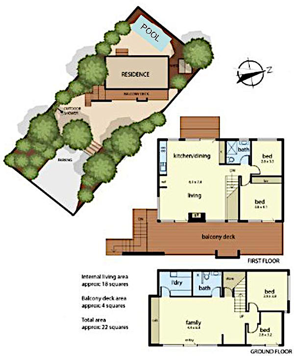 Amour Eva Sorrento - House plan