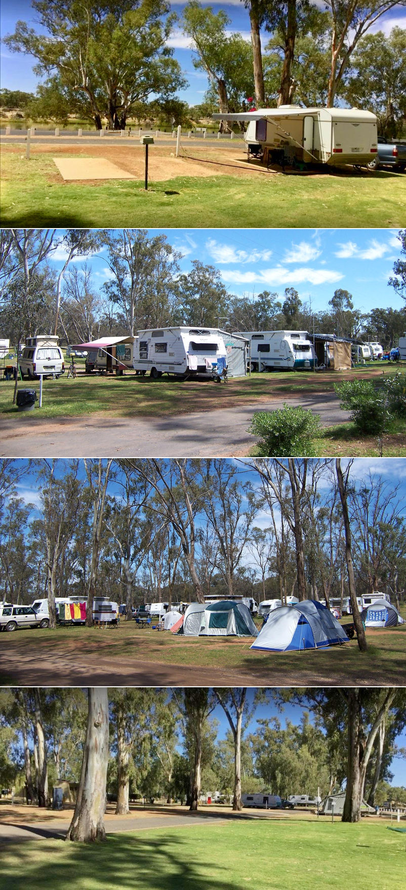 Apex RiverBeach Holiday Park - Sites