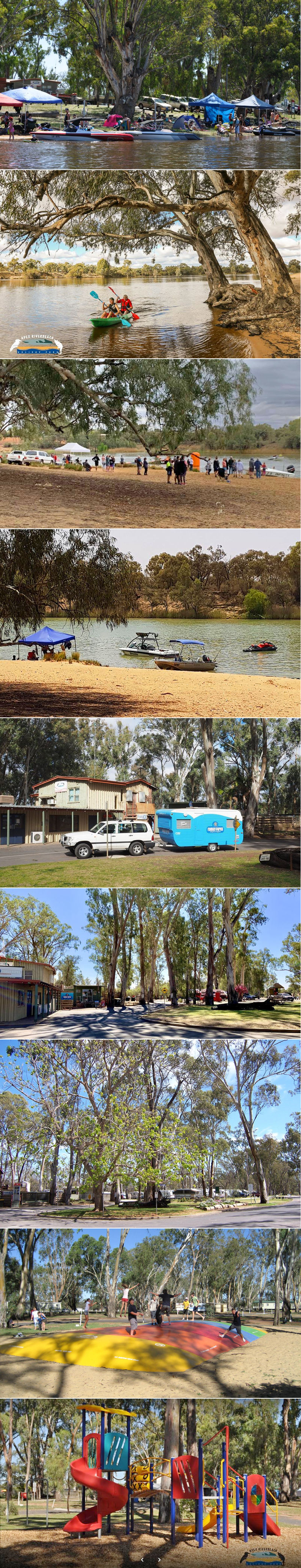 Apex RiverBeach Holiday Park - Grounds and facilities